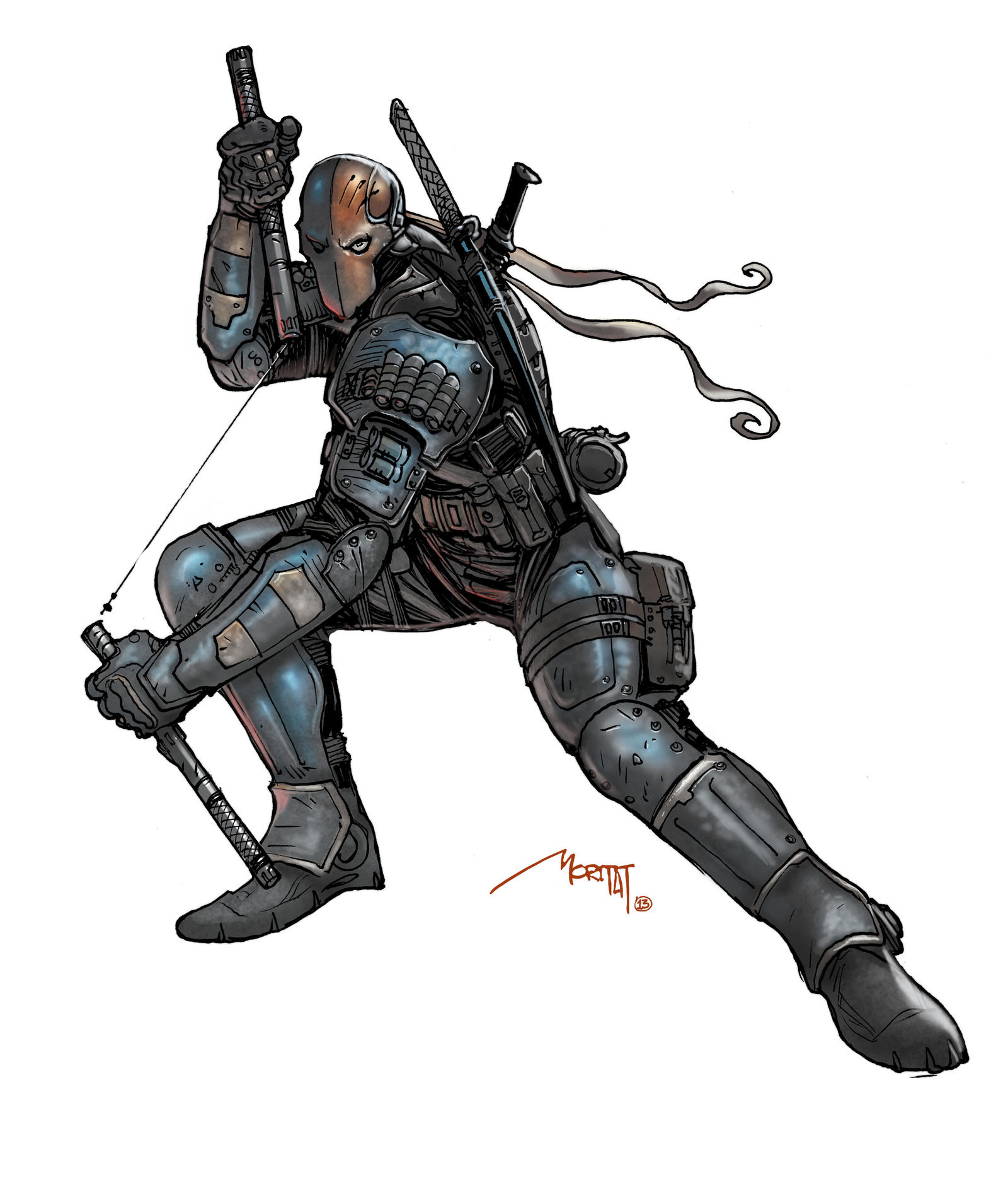 Deathstroke by moritat