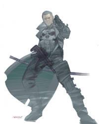 Punisher 2014 by moritat