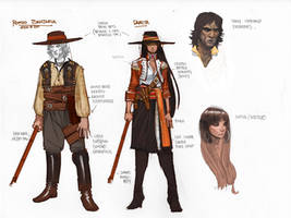 concepts for bandits 002 All star western 20 by moritat