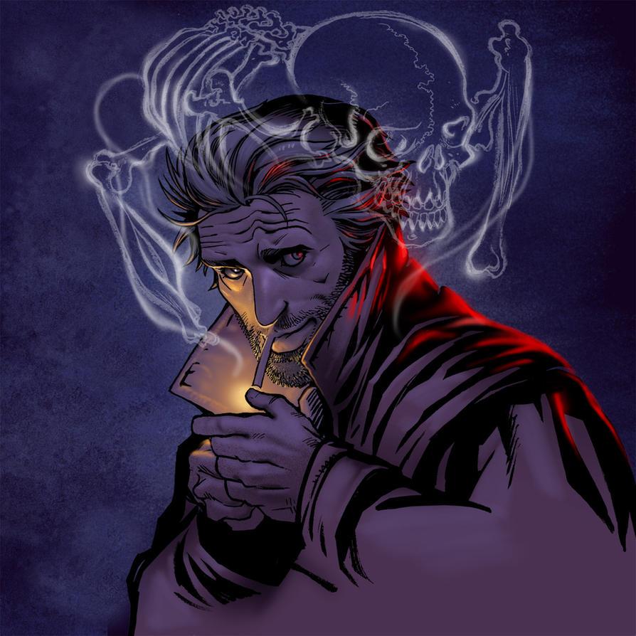 HELLBLAZER by moritat