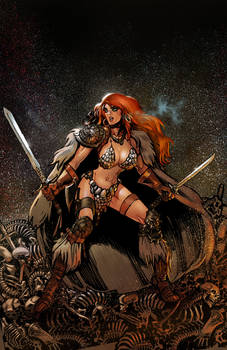 Red Sonja Annual Cover 001