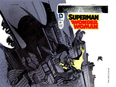 Batman Vs Superman  Color Cover