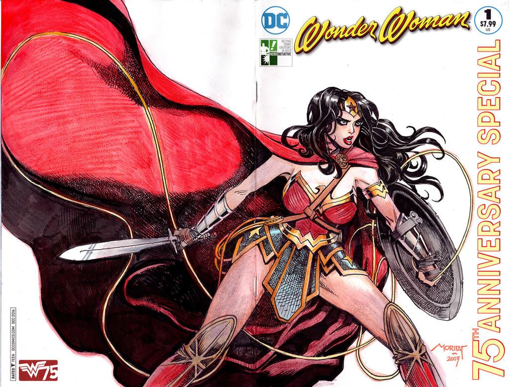 Wonder Woman Hero Initative by moritat