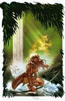 Sheena Issue Zero Cover  by moritat