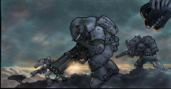 elephantmen by moritat