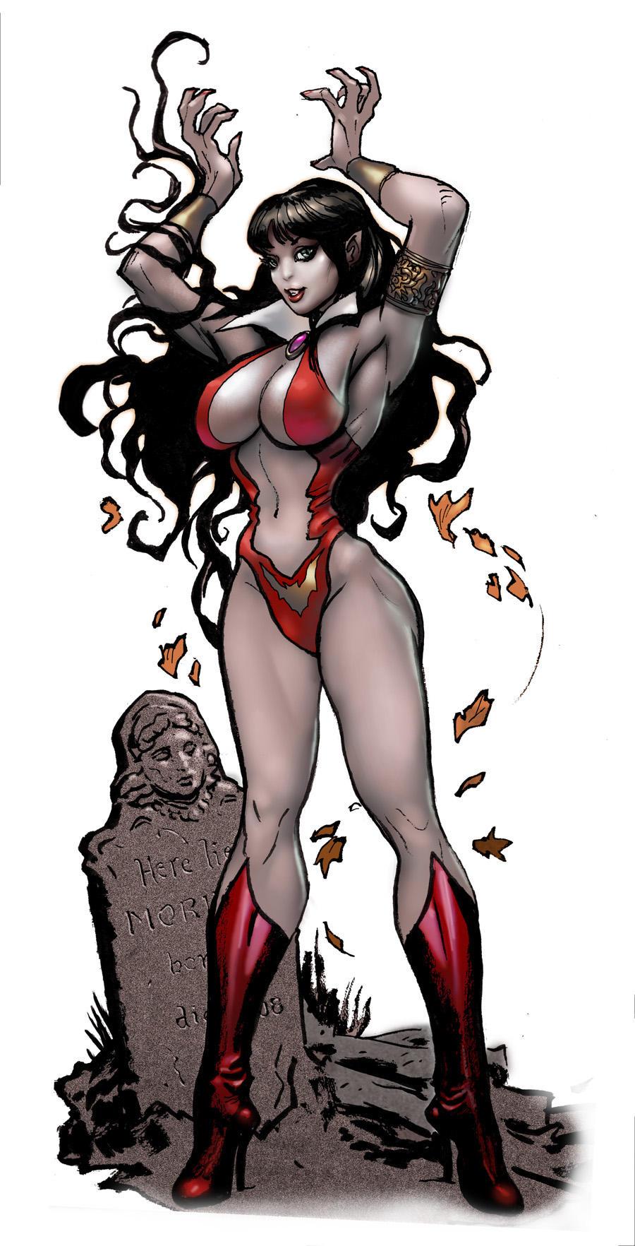 vampirella halloween by moritat