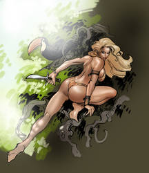 Sheena by moritat