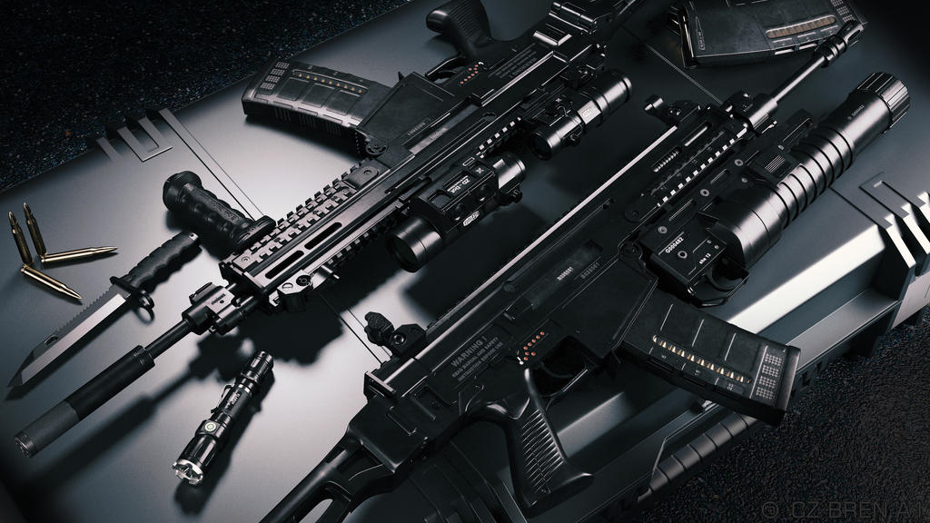 CZ 805 Bren Assault Rifle by schaten