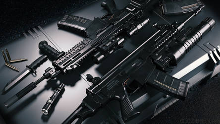 CZ 805 Bren Assault Rifle
