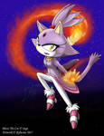 FA: Blaze the Cat by Rylucius