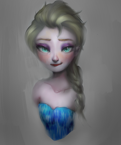 Elsa the Queen by M00seM0use