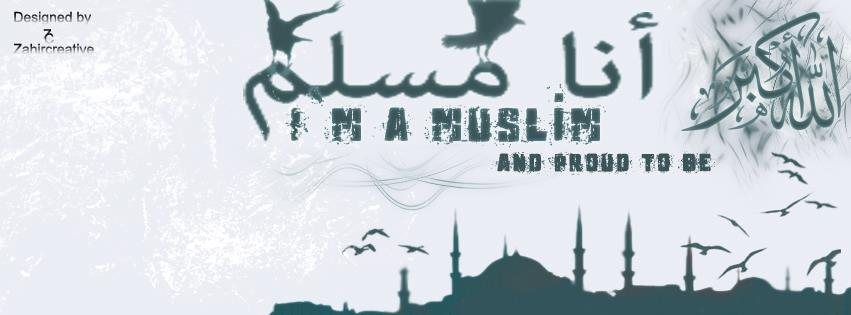 image of i am a muslim facebook timeline cover