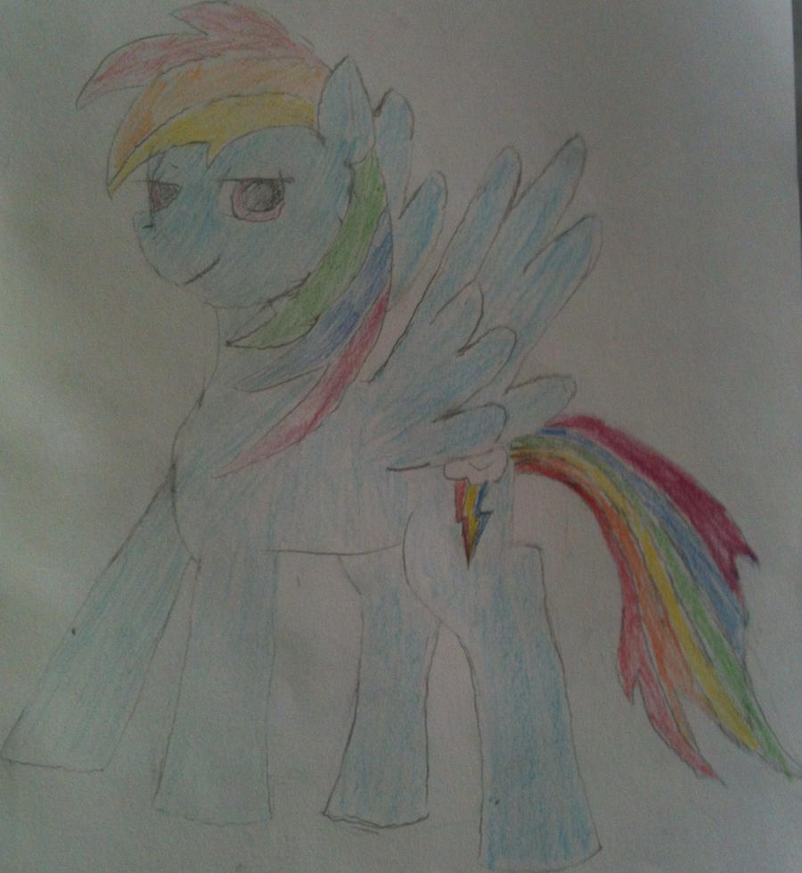 Rainbow Dash by kaidanXD