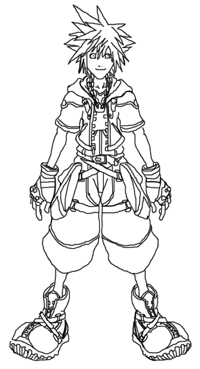 sora coloring pages - photo#4