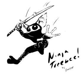 Ninja Treewee by Foxeye