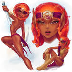 2013 ElfQuest Fan Art Calendar: Windstone