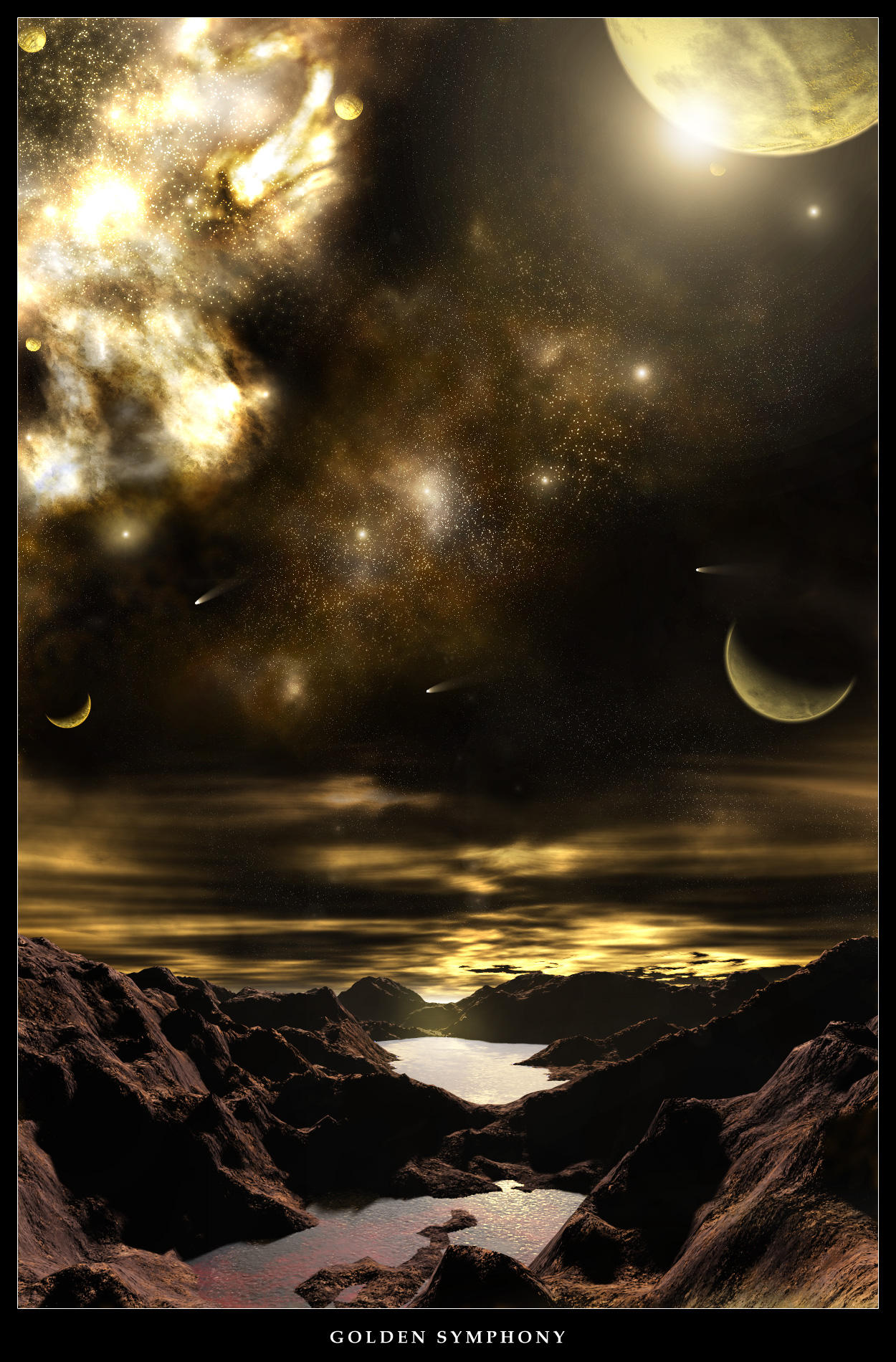 Golden Symphony by alyn