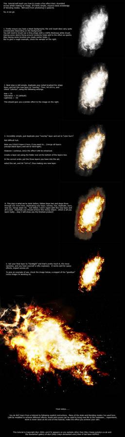Firey Explosion tutorial