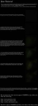 Stars tutorial by alyn