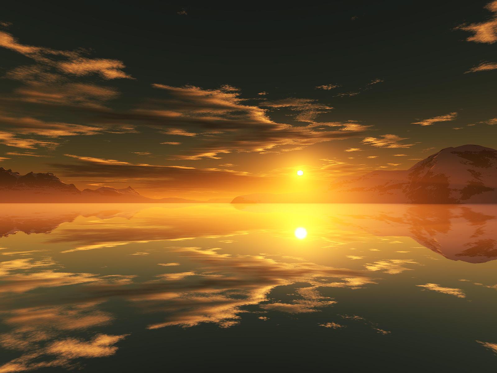 Sunset in Season by alyn