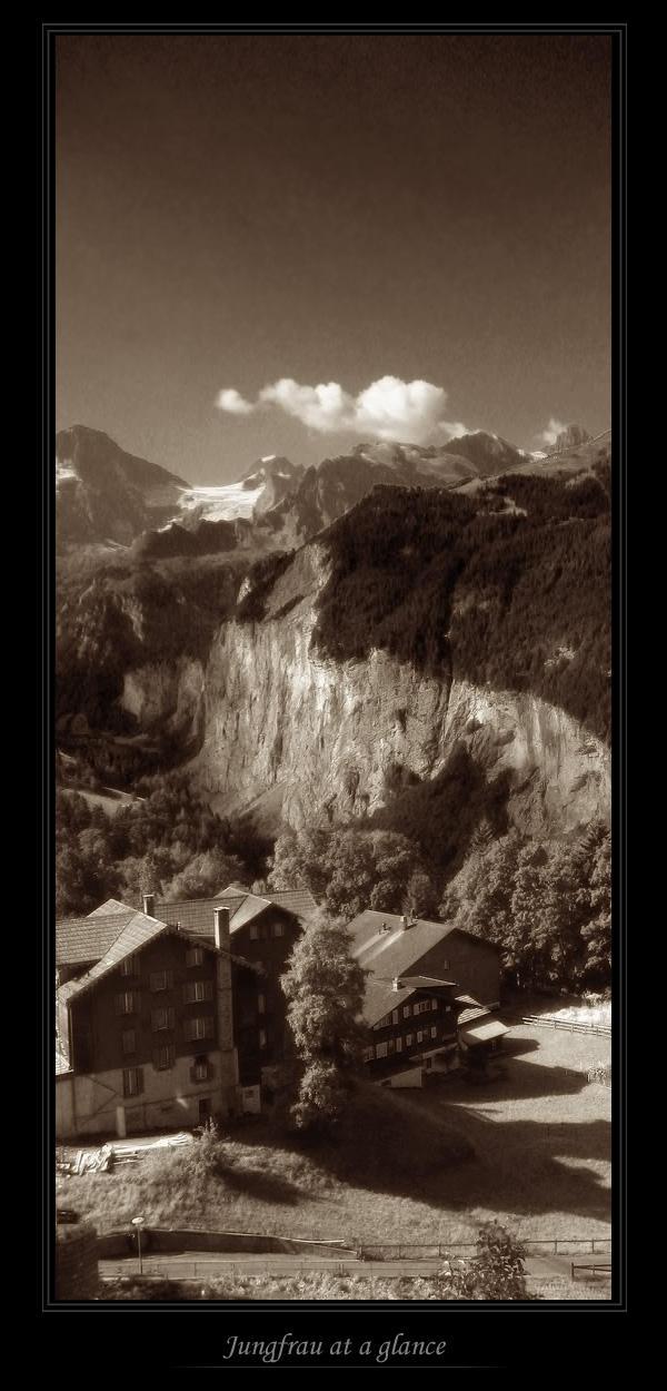 Jungfrau at a glance by alyn