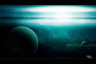 Aqua Dawn by alyn