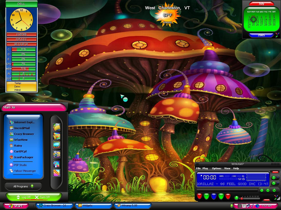 enchanted mushroom wallpaper - photo #7