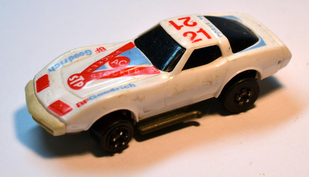 Kidco Corvette Key Car 1980 by happymouse666