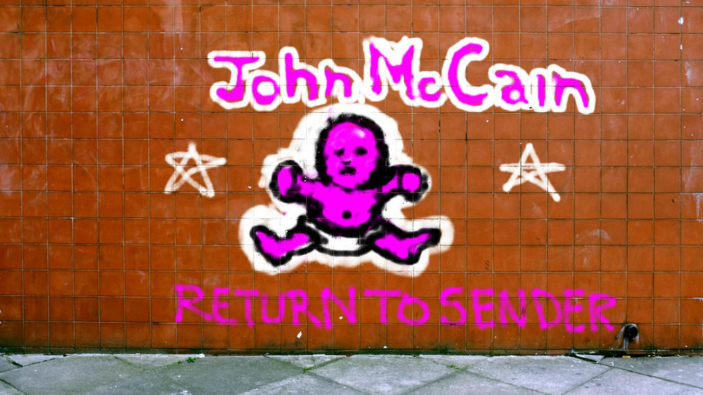 John McCain Return To Sender by happymouse666