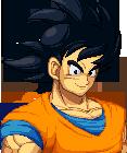 Goku win portrait remake by K3RCY