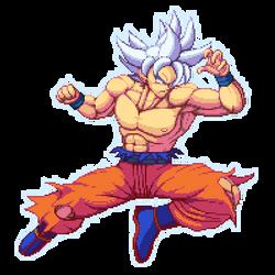 Ultra Instinct Goku by K3RCY