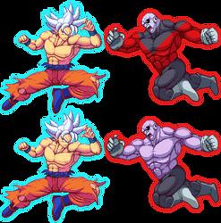 Goku Vs Jiren! by K3RCY