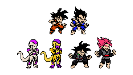 Black and Freeza (Dokkan Event) by K3RCY
