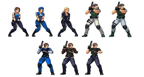 Resident evil Characters