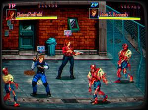 Resident Evil 2 Beat em up