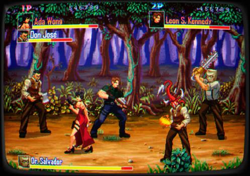 Resident Evil 4 Beat em up