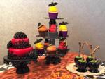Halloween dessert table