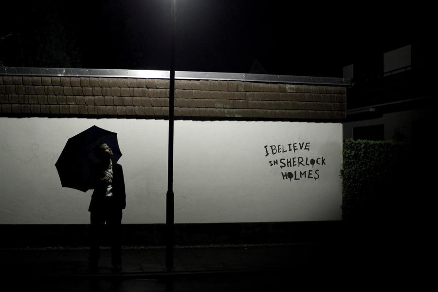 Sherlock [BBC - Lestrade]: Believe In by JoanneDelany