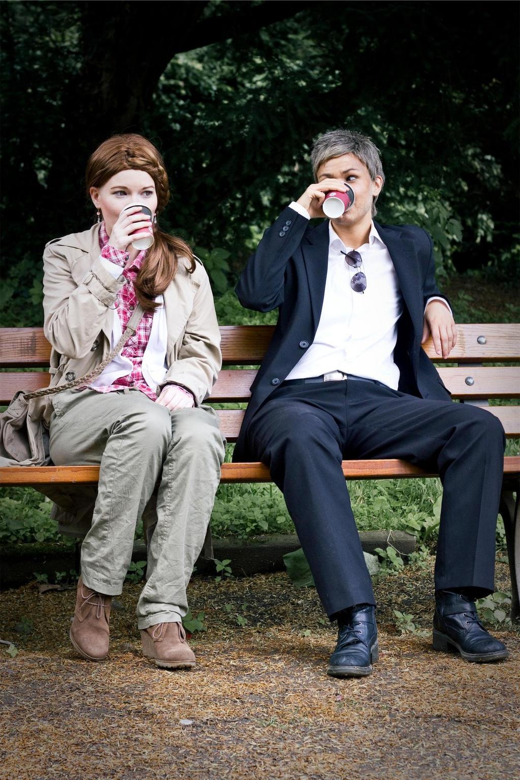 Sherlock [BBC-Lestrade]: Coffee Break by JoanneDelany