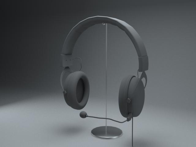 Headphones Render by Eznaex