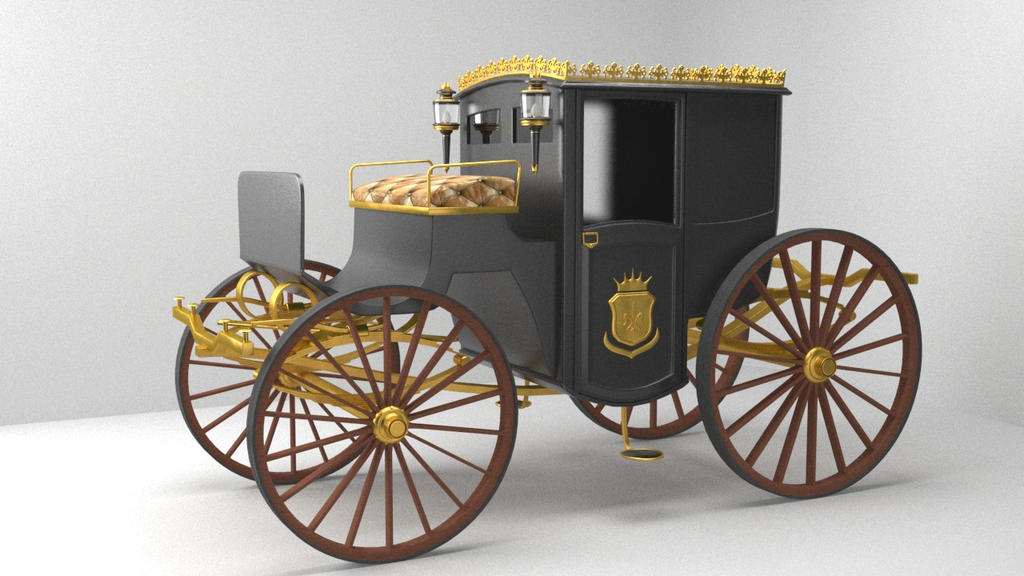 Royal Carriage Model by Eznaex