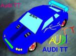 Audi TT in Paint