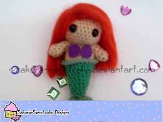 Ariel Mermaid Amigurumi by sakura-sweetcake