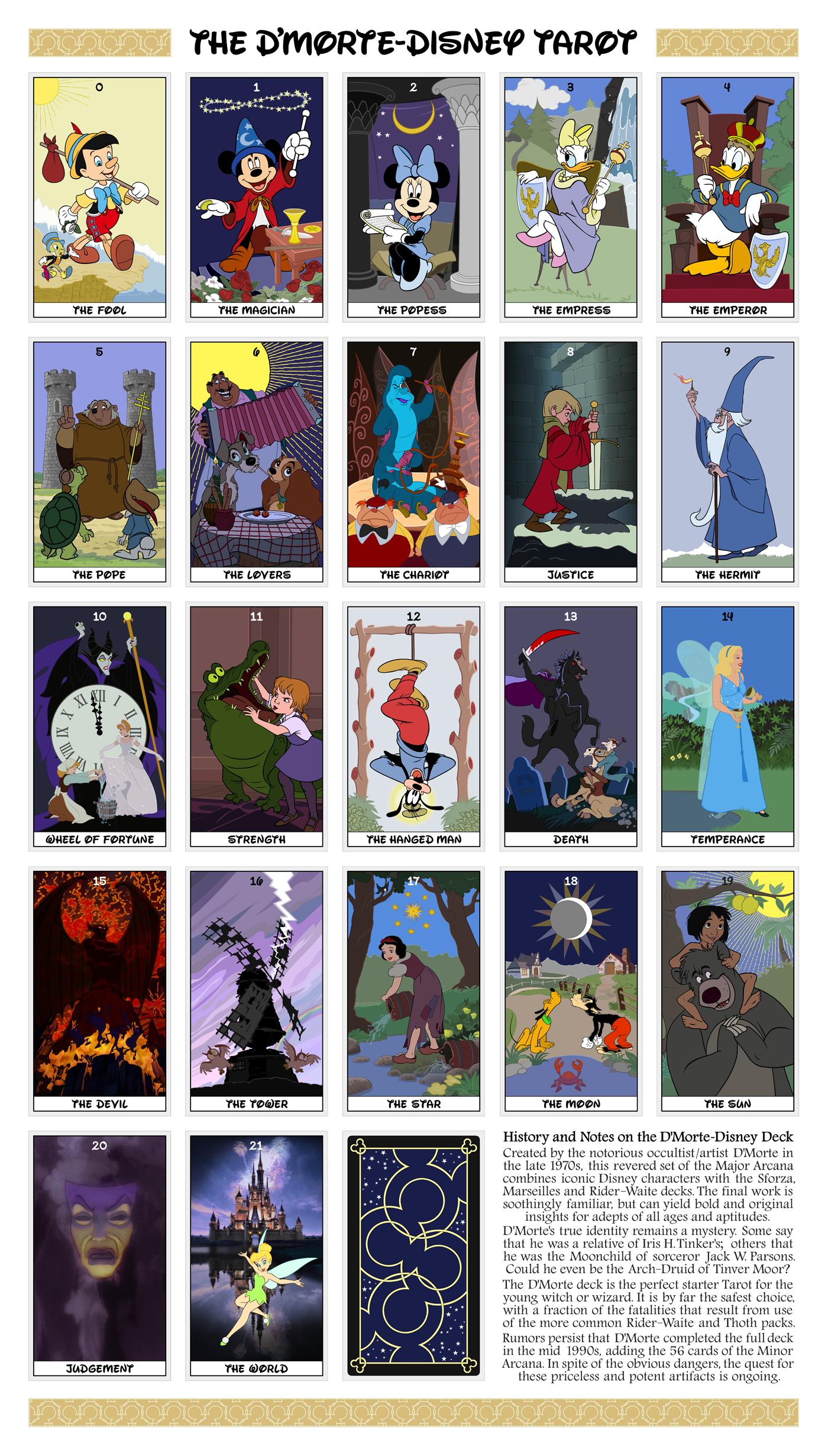 Dmorte-Disney Tarot