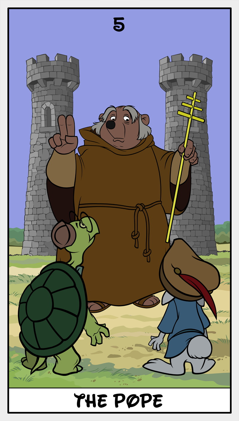 Dmorte Tarot 5: Pope