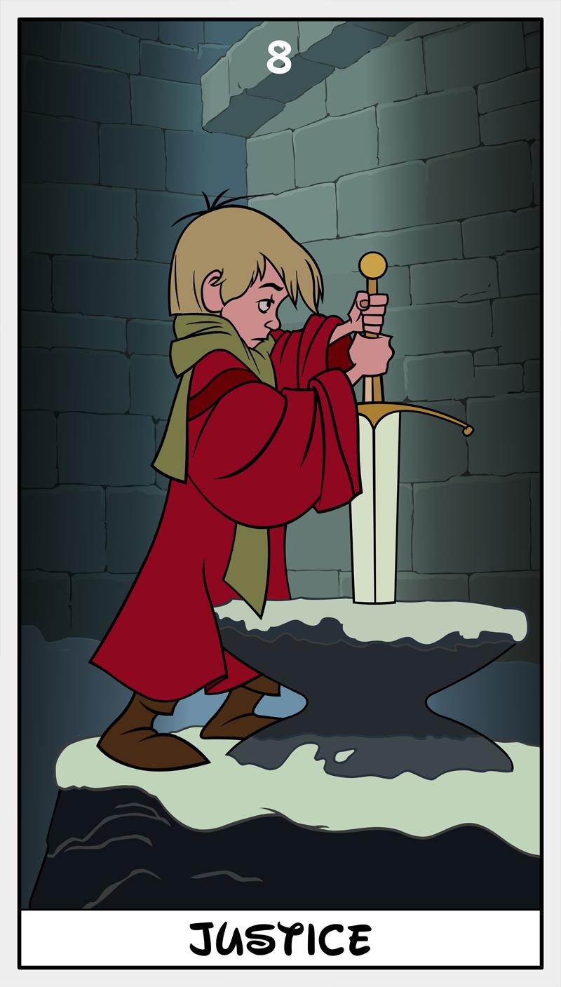 Dmorte Tarot 8: Justice