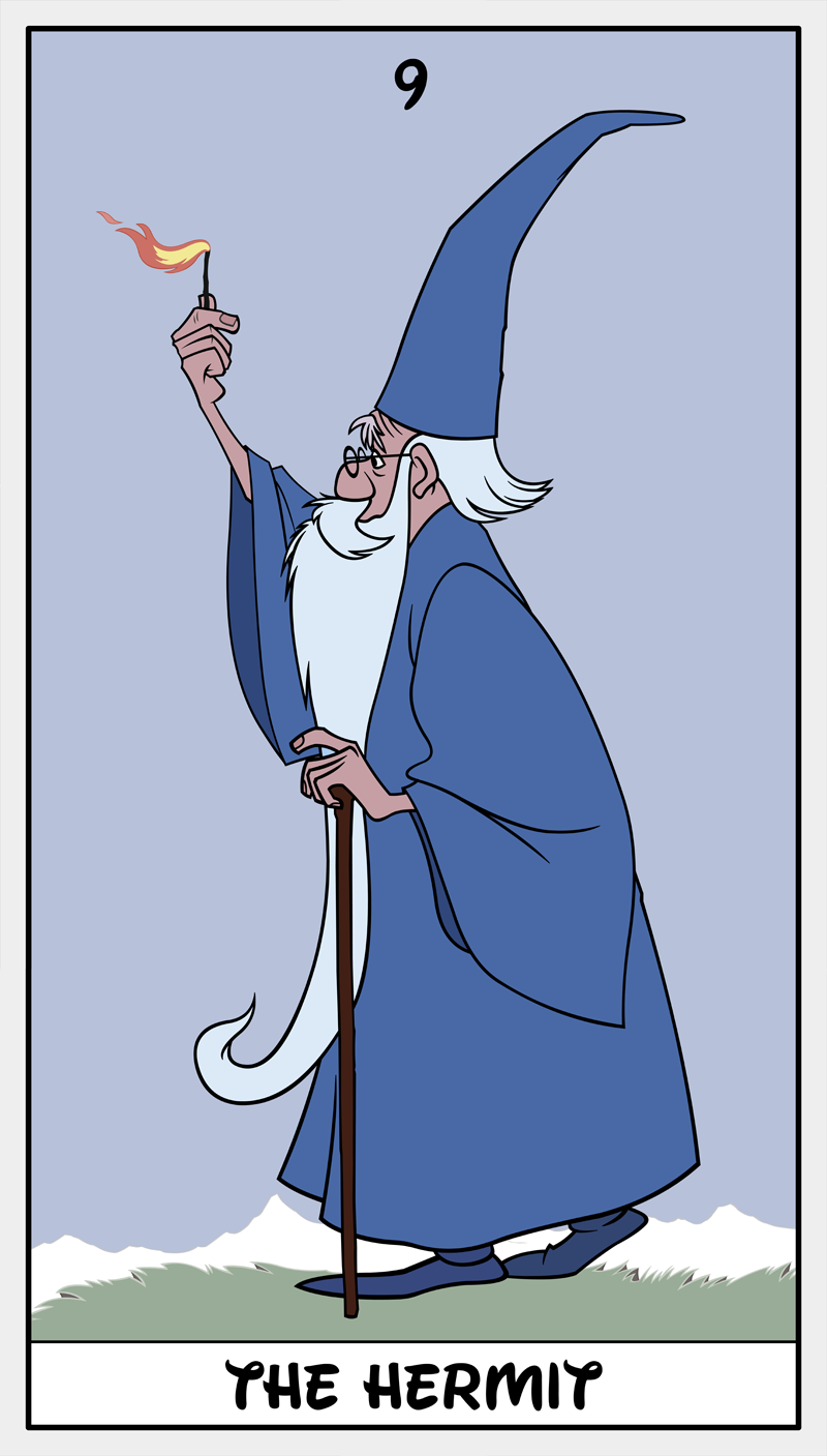 Dmorte Tarot 9: Hermit