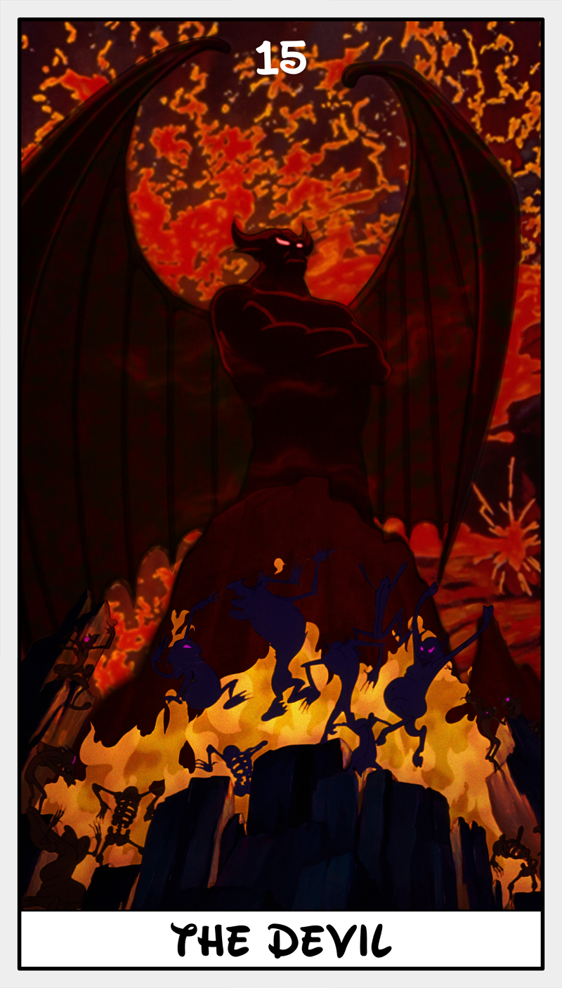 Dmorte Tarot 15: Devil