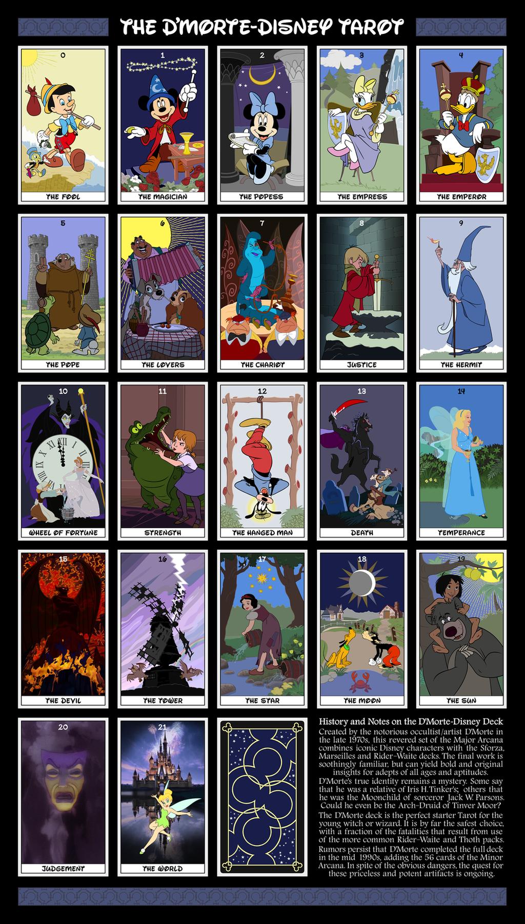 Dmorte-Disney Tarot by dmorte
