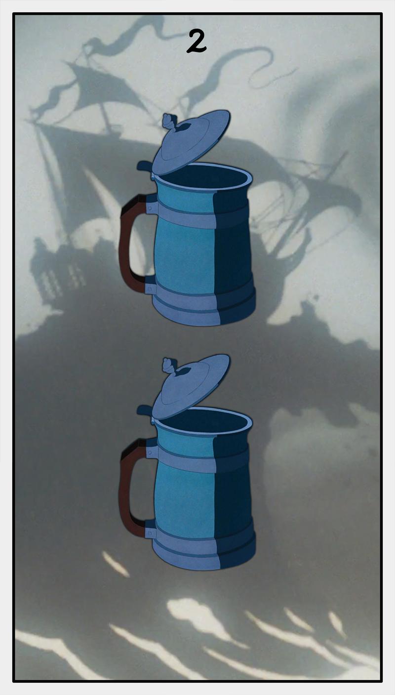Dmorte Tarot Cups: 2
